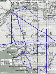 Yale Map Presettlement Trails Through Surrey
