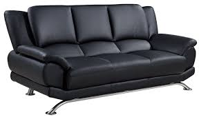 Bonded Leather Sofa Global Furniture Bonded Leather Sofa Contemporary Sofas By