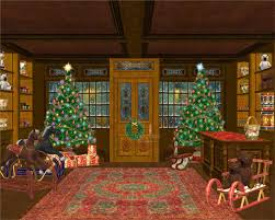 Animated Christmas Window Decorations by Free Animated Christmas Desktop Wallpaper Definition