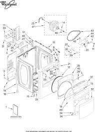 whirlpool clothes dryer wed6400sw1 user guide manualsonline com