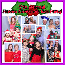 merry xmas eve booth miami photo booth party