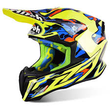 new 2016 airoh twist rockstar 2018 airoh motocross helmets yellow