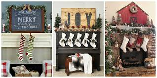 neat photos in mantel decorations ideas for holiday fireplace in