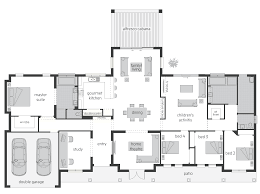 Modern Floor Plans Australia Large Rural House Plans Australia
