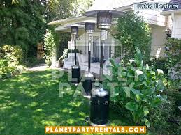 Patio Heaters For Rent by Outdoor Patio Heater Party Rentals Tents Tables Chairs Jumpers
