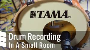 drum recording in a small room youtube