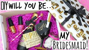 will you be my bridesmaid gifts diy will you be my bridesmaid gift kate spade inspired wedding