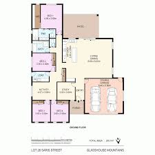 Glass House Floor Plan 6 Sairs Street Glass House Mountains Qld 4518 Sold