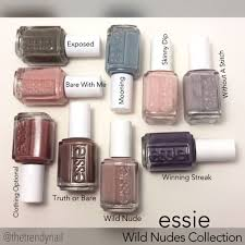 swatches u0026 review essie wild collection the trendy nail