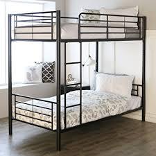 Sturdy Metal Bunk Beds Sturdy Metal Bunk Bed In Black Finish