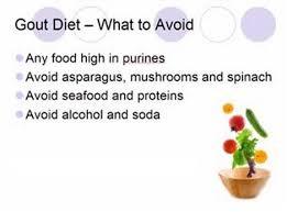 gout diet menu plan foods for gout remedies