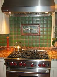 Green Kitchen Tile Backsplash Motawi Backsplash Tile At Ceramiche Tile And Stone For The