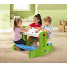 little tikes easy adjust play table little tikes adjust n draw table green and blue walmart com