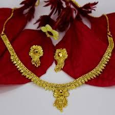 fashion design necklace images 1 gram gold designer necklace sonchafa jpg