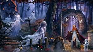 dark ghost fantasy art artwork horror spooky creepy halloween