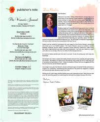 the west orange county women u0027s journal winter 2015 2016