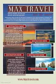 travel agent template postermywall