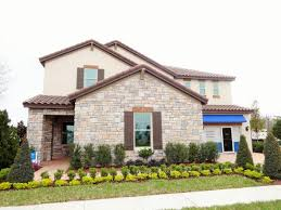 watermark by meritage homes in winter garden jasmine model home