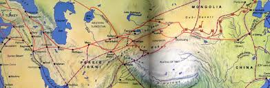 Ancient China And Japan Map by Silk Road Links