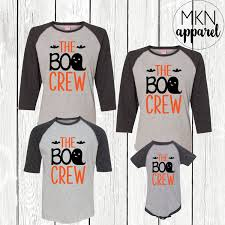 the boo crew family halloween shirts ghost shirts cute
