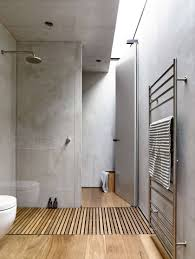 Japanese Shower by Stunning Wood Floor Showers Stephanie White