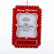 picture frame ornaments kurt s adler