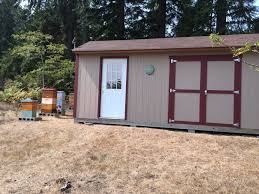 Tuff Shed Tiny House by The Beekeepers Digest A Shared Adventure Of Beekeeping And Bees