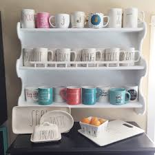 a way to display my starbucks mugs i u0027ve collected while traveling