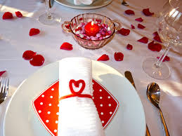 valentines table decorations decorations beautiful love folding napkin ideas with creative