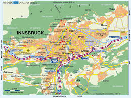 World Map Austria by Innsbruck Map