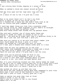 country music numbers by bobby bare lyrics and chords