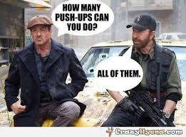Stallone Meme - funny meme stallone and chuck norris