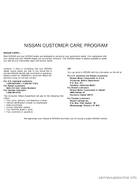nissan sentra 1996 b14 4 g owners manual