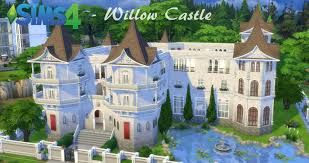 sims 4 building willow castle part 1 youtube