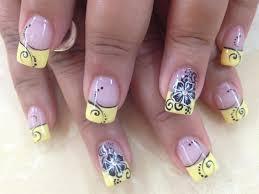 black and yellow nail designs nails magazine nail art galleries