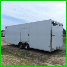 V Nose Enclosed Trailer Cabinets by Vehicle Trailers Ebay