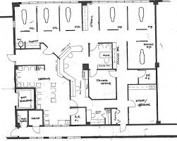 used car floor plan what is the average square footage of office space per person
