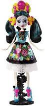 monster high skelita halloween costume jamie u0027s toy blog monster high deluxe skelita calaveras doll
