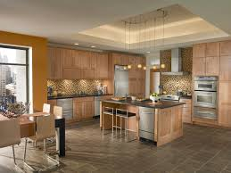 kitchen ideas with maple cabinets kitchen contemporary dynamic photo 37 kraftmaid photo