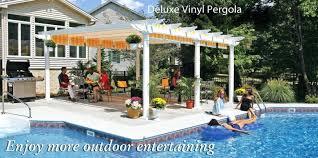 Home Depot Pergola by Pergola With Canopy Costco Pergola With Retractable Canopy 10a12