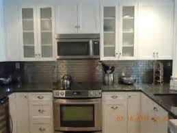 Kitchen Backsplash Ideas Decorative Tin Tiles Metal Metal - Kitchen metal backsplash