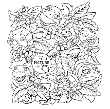 land coloring pages kids printable free