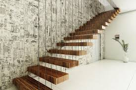 furniture floating stairs design inspiration deswie home design art