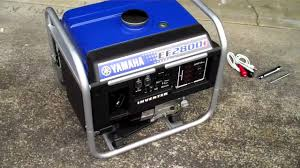 yamaha ef2800i inverter generator youtube