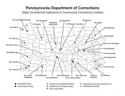 Map Of Williamsport Pa Pennsylvania Department Of Corrections Prison Closures Would