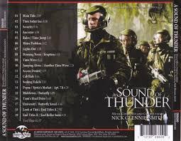 Seeking Soundtrack Site A Sound Of Thunder Soundtrack Nick Glennie