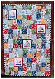Nautical Quilts Needles And Lemons A Day At The Beach Ii A Finished Quilt