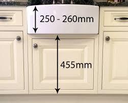 Belfast Sink Unit Sizes DIY Kitchens Advice - Belfast kitchen sinks