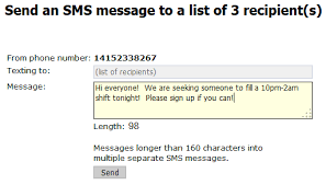 Seeking Text Message New Sms Options Text Notifications And Send Text Messages To