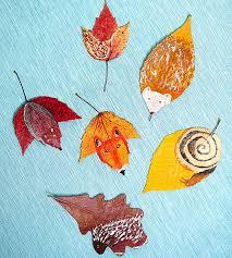 Kids Fun Craft - fun with leaves